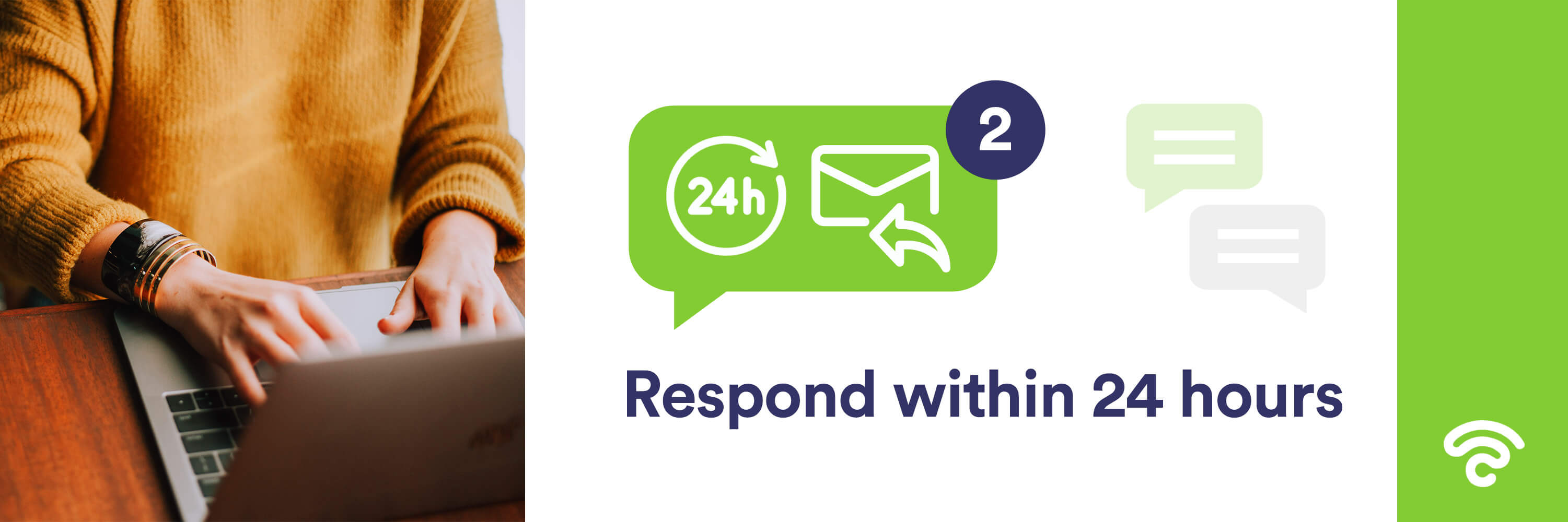 Respond within 24-hours