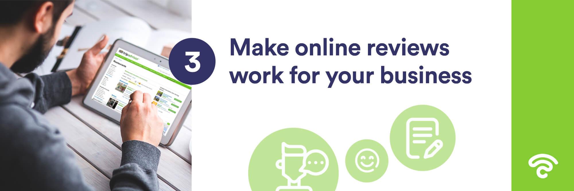 managing online restaurant reviews