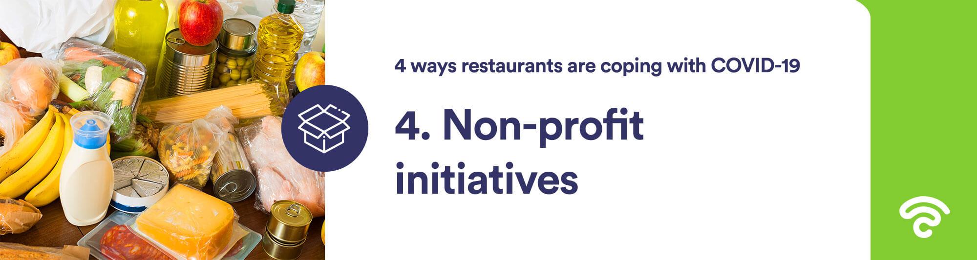 covid-19 non-profit initiatives