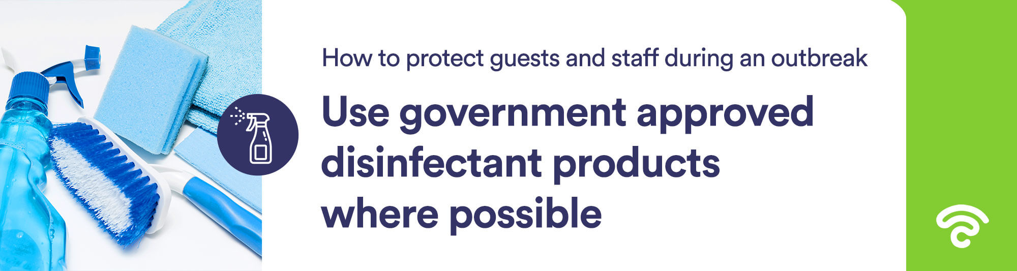 government approved disinfectant