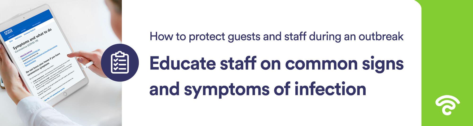 hotel coronavirus education