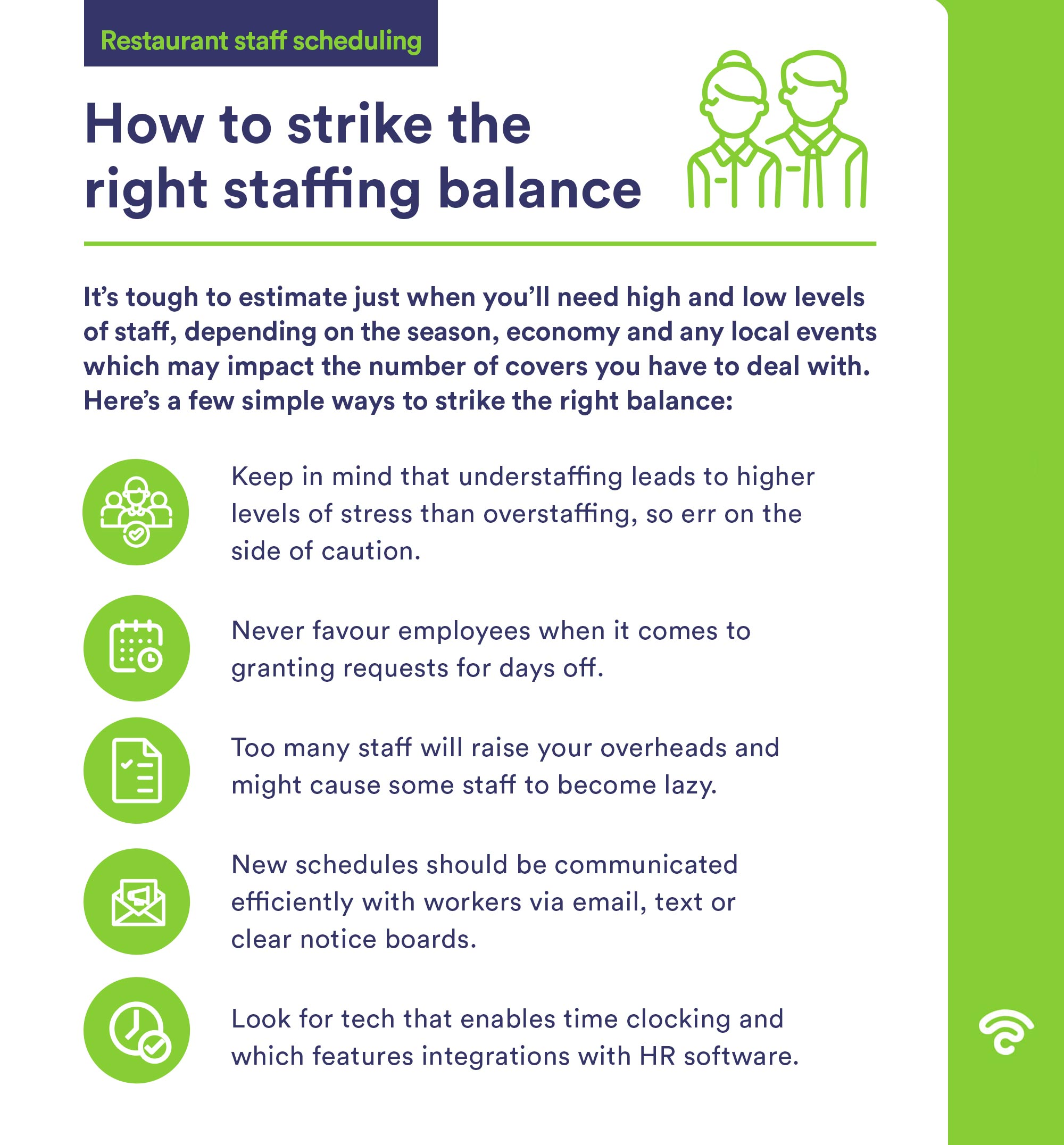 how to strike right staffing balance
