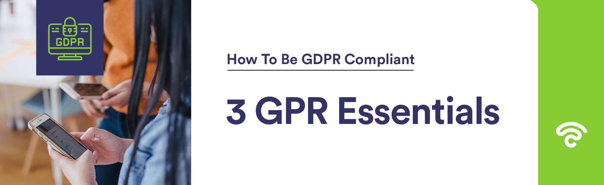 GDPR essentials